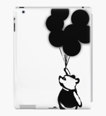 Flying Balloon Bear - Off Center Version iPad Case/Skin