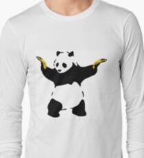Bad Panda Stencil Long Sleeve T-Shirt