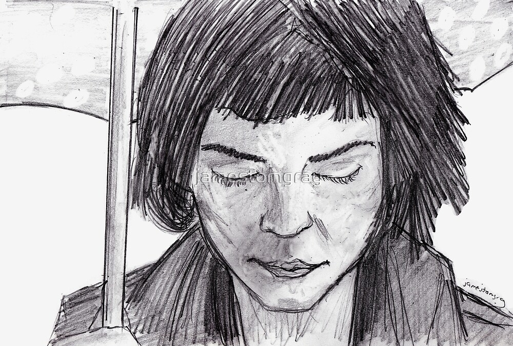 Audrey Tautou (Amelie)  by jamestomgray