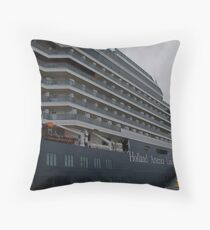 ms Oosterdam Throw Pillow