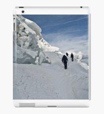 climbing weissmies iPad Case/Skin