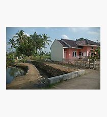 tropical house Photographic Print