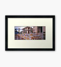 Plaza Mayor, Trinidad Cuba. Framed Print