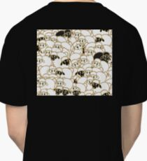 sheep flock, black and white Classic T-Shirt