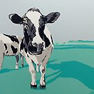 Two Cows by Eva Fritz