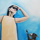 Walkies? by Eva Fritz