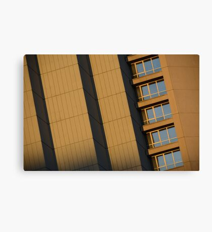 there was a crooked man and he had a crooked house... Canvas Print