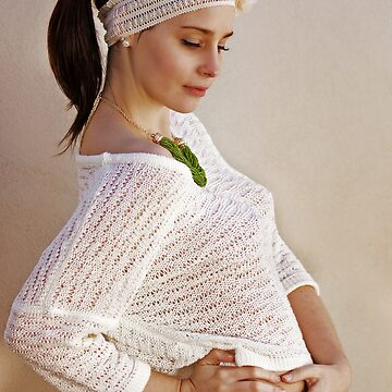Pretty Knits and a Ponytail by JoanZee