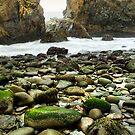 Beach, Julia Pfeiffer State Park, Big Sur, California by Pete Paul