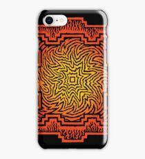 ufurium fire mandala iPhone case iPhone Case/Skin