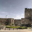 Carrickfergus Castle, Northern Ireland by Victoria limerick