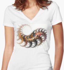 Caterpillar Women's Fitted V-Neck T-Shirt