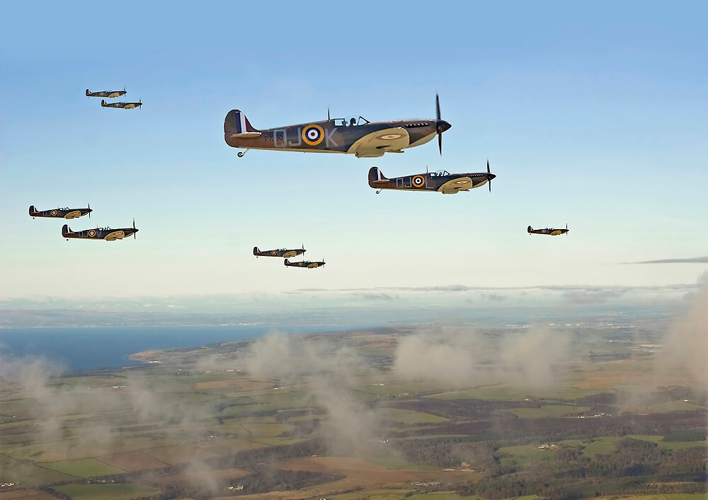 Image result for spitfire squadron