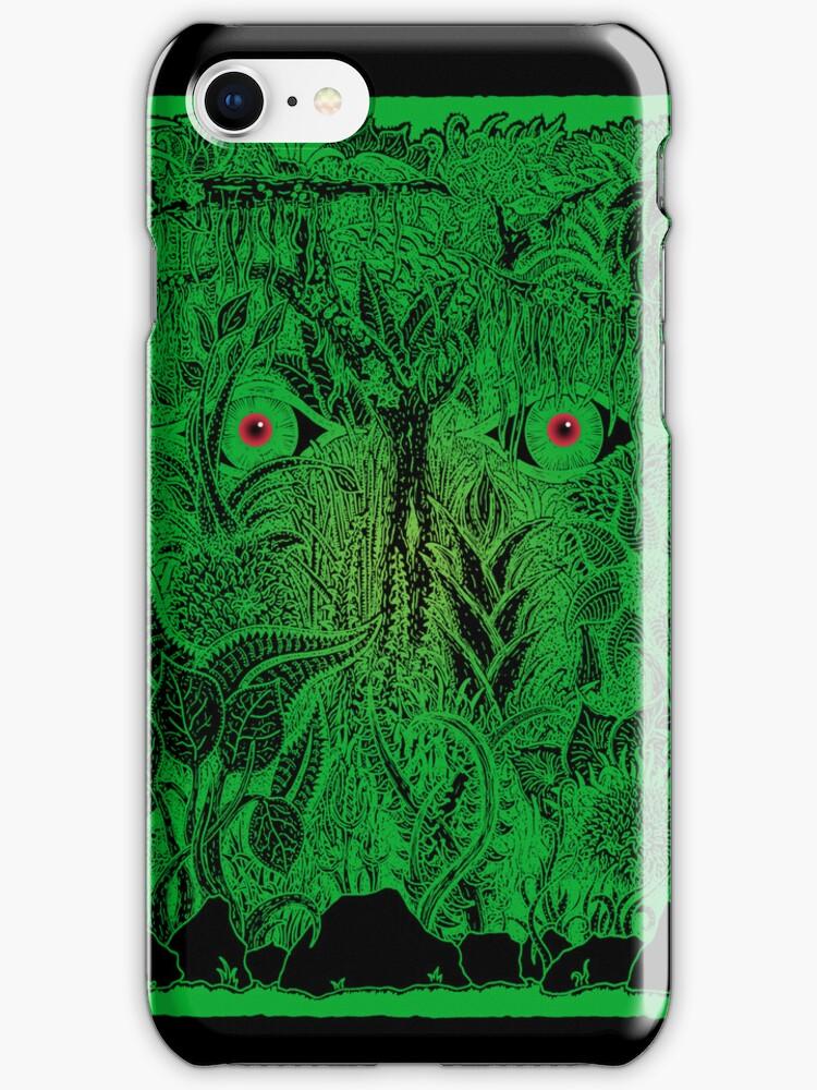 gaia nature iPhone case by peter barreda