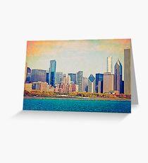 Vintage Chicago Greeting Card