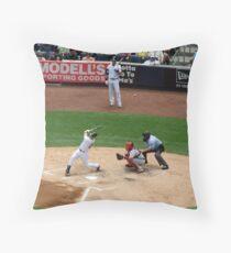 Foul Ball Throw Pillow