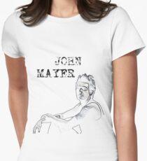 John Mayer Women's Fitted T-Shirt