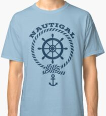 Nautigal Nautical T Shirt Classic T-Shirt