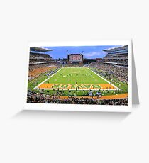 Baylor Touchdown Celebration Greeting Card