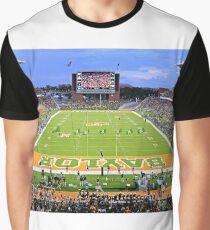 Baylor Touchdown Celebration Graphic T-Shirt
