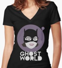 Ghost World Enid Women's Fitted V-Neck T-Shirt