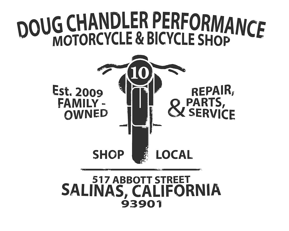Doug Chandler Performance: Motorcycle (Black/Dark Grey) by quinsea