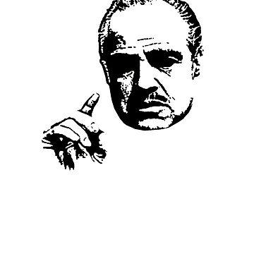 Vito Corleone The Godfather by reujken