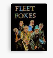 Fleet Foxes Canvas Print