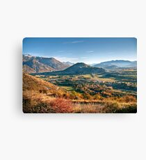 The View from Crown Peak Road Canvas Print