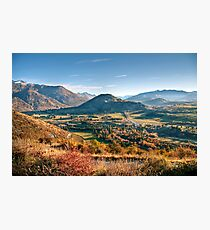 The View from Crown Peak Road Photographic Print