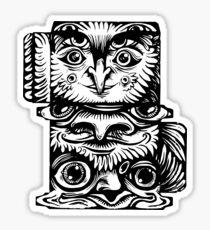 Strange Totem Sticker