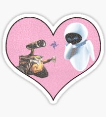 Wall-E and Eve Sticker