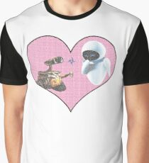 Wall-E and Eve Graphic T-Shirt