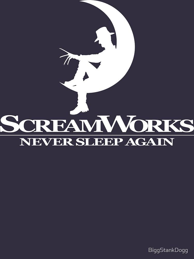 ScreamWorks (White) by BiggStankDogg