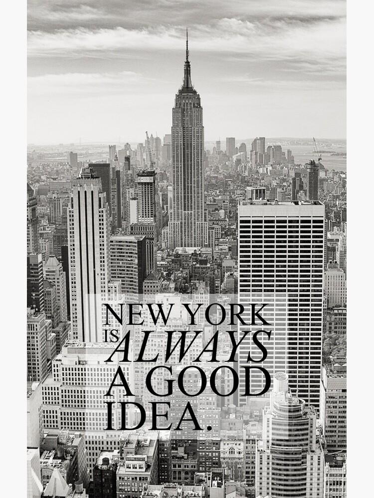 Nueva York es siempre una buena idea de Orce