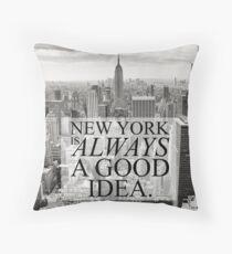 Cojín Nueva York es siempre una buena idea
