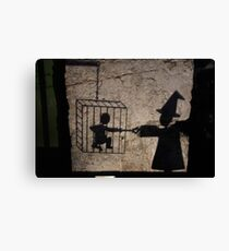 Marionette: Story on Stones  Canvas Print