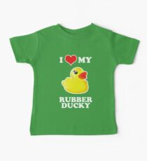 I Love My Rubber Ducky [iPad / iPhone / iPod Case, Print & Tshirt] Kids Clothes
