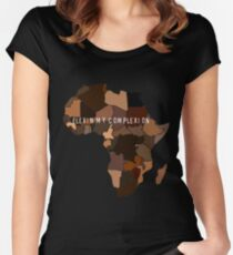 ee51b0743 Flexin My Complexion Fitted Scoop T-Shirt