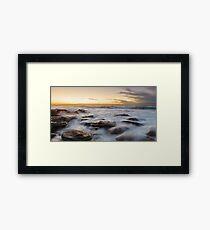 Little Bay Rising II Framed Print