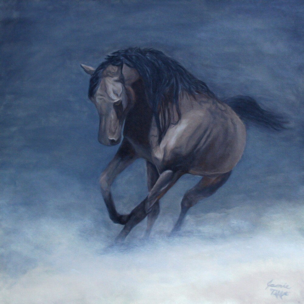 Horse Painting by JamieTifft
