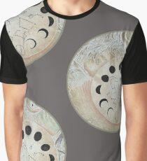 White Night Sky Graphic T-Shirt