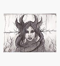 Death's Decay- Pen and Ink Photographic Print