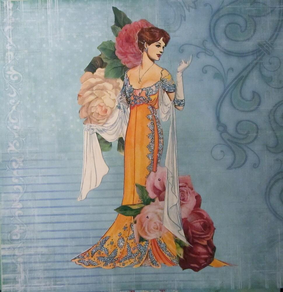 Ladies of Fashion:  Rose by Kanchan Mahon