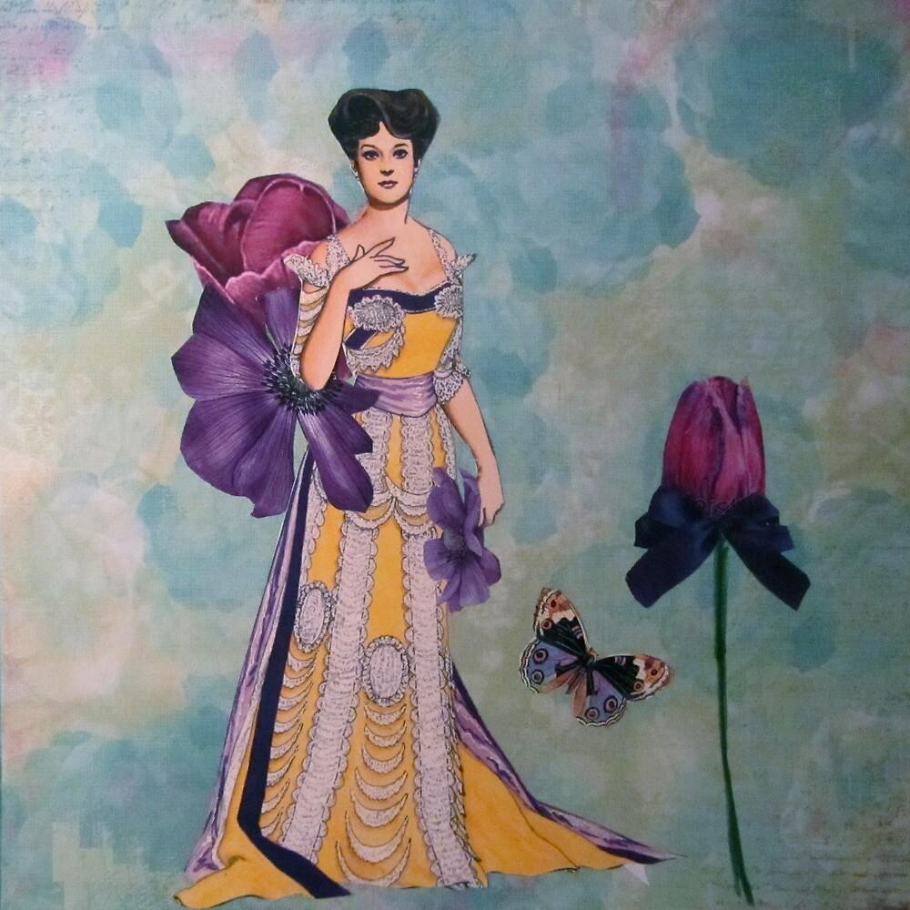Ladies of Fashion: Violet by Kanchan Mahon