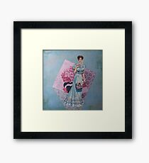 Ladies of Fashion: Jeanne Framed Print