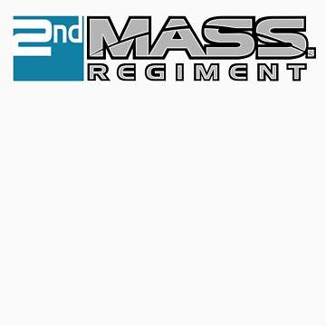 2nd MASS. Regiment - Teal by ch1ppz