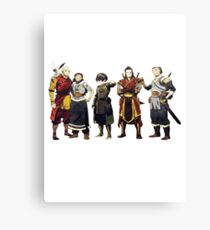 Avatar Old Friends Canvas Print