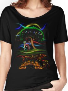 Radiohead King of Limbs Women's Relaxed Fit T-Shirt
