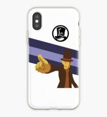 Professor Layton Pointing! iPhone Case